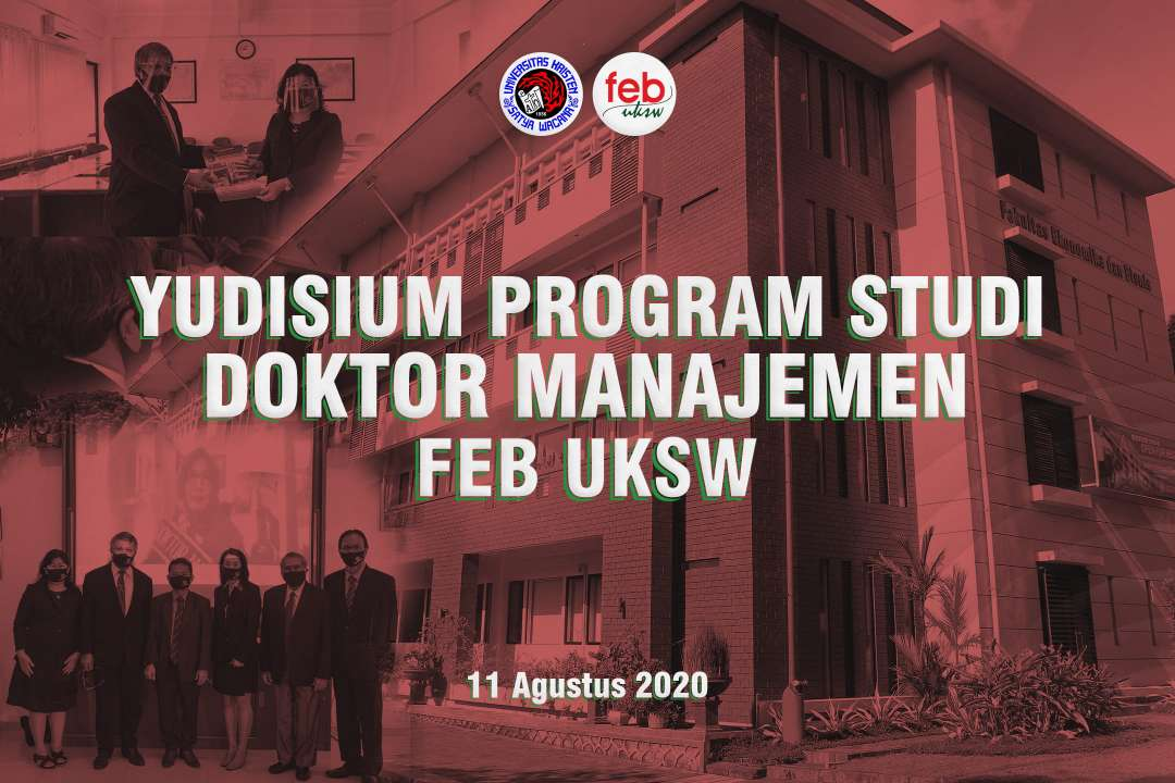 Yudisium Program Studi Doktor Managemen FEB UKSW