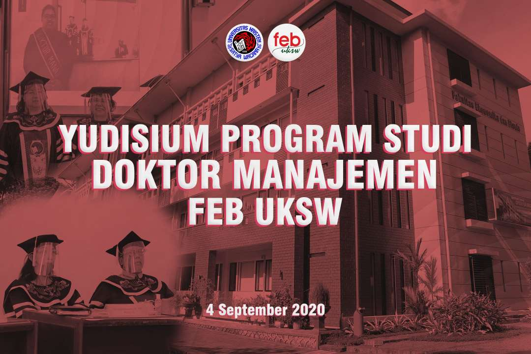 Yudisium Program Studi Doktor Managemen FEB