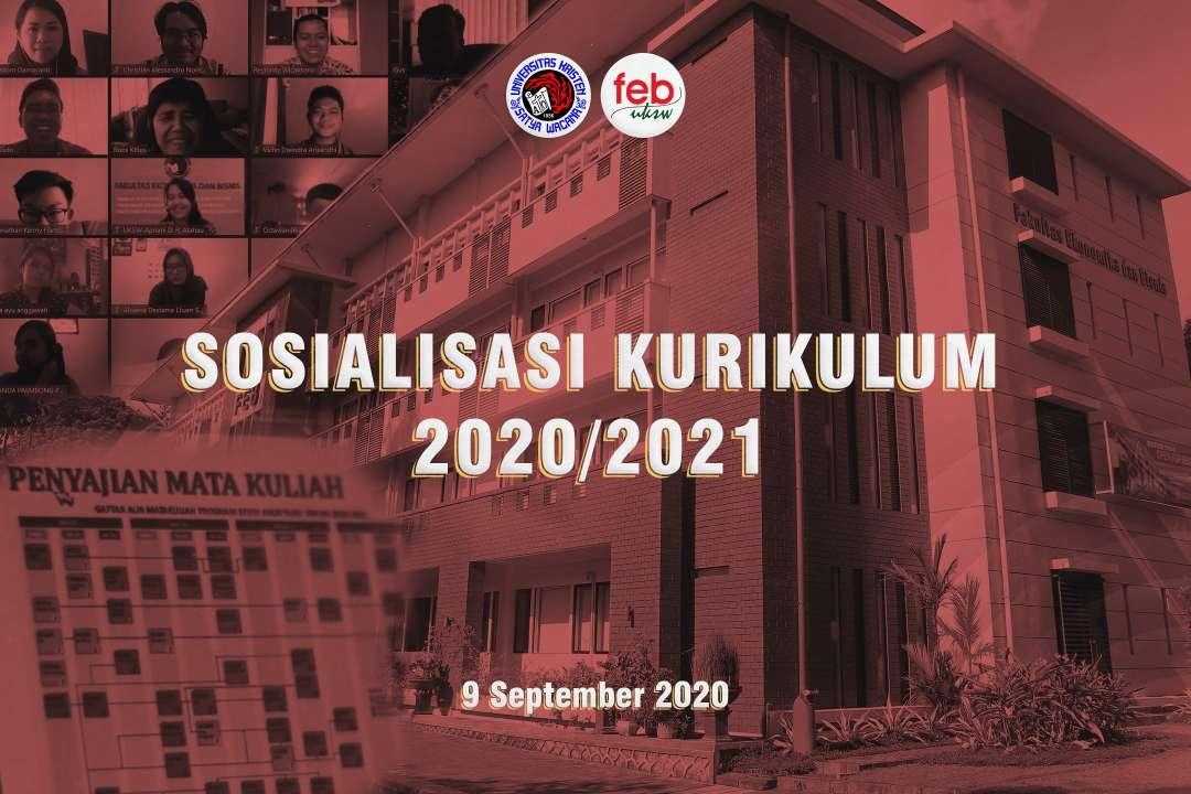 Sosialisasi Kurikulum 2020/2021 Fakultas Ekonomika dan Bisnis