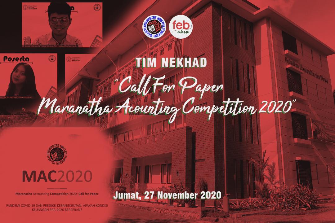 Call for Paper 'TIM NEKHAD'